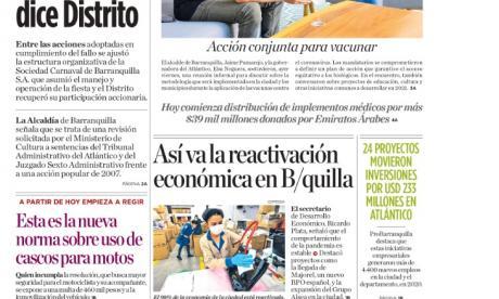 """""""Estructura de organización del Carnaval ya fue ajustada: Distrito"""""""