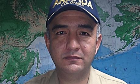 Capitán Julio César Poveda.