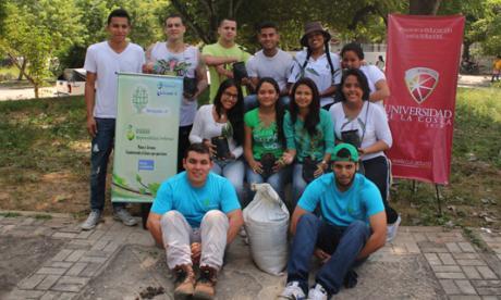 Grupo juvenil Barranquillla+20 lideró jornada ecológica
