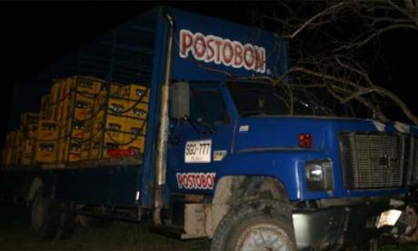 Conductor de Postobón muere en intento de atraco