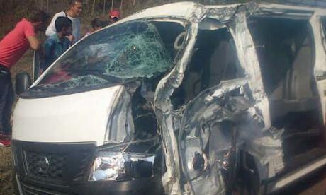 Accidente en Sucre deja 2 mujeres muertas y 5 heridos