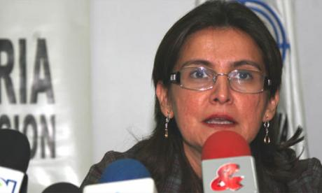 María Eugenia Carreño, procuradora delegada.