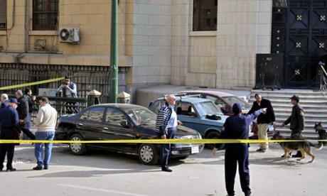 La explosión se produjo en el estacionamiento del Tribunal Supremo en El Cairo.