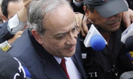 El abogado Víctor Pacheco