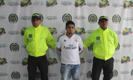Jonathan Alberto Navas Pimienta, alias Frijolito.