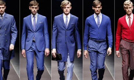 La moda masculina trae el verano del futuro a París