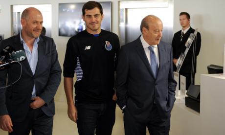 Iker Casillas, guardameta español.