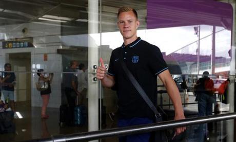 Ter Stegen, guardameta alemán del FC Barcelona.