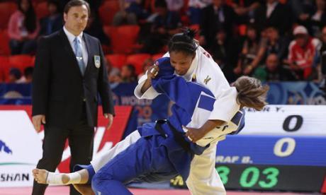 Yuri Alvear se cuelga medalla de bronce en Mundial de judo