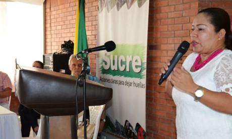 La directora encargada del Icbf en Sucre, Fabiola Palencia, explica su posición.