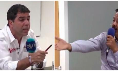 Reviva el primer cara a cara entre Char y Sánchez Anillo
