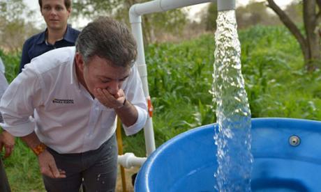 Presidente Santos visita hoy Santa Marta para entregar tres pozos de agua