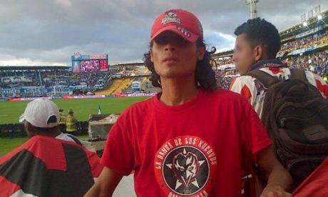 Glen Lizcano Rincón, barrista muerto.