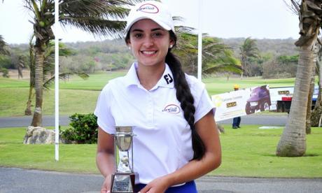Valentina Espinosa revalidó su título