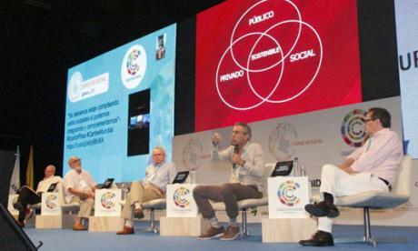Desarrollo del panel Visión integradora del Caribe colombiano.
