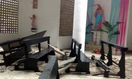 Vendaval afecta a dos iglesias en Barranquilla y Soledad