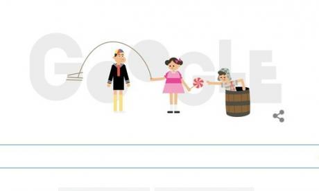 Al acceder al buscador se puede observar al Chavo, la Chilindrina y Quico jugando juntos.