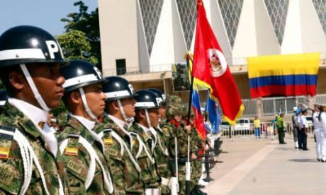 Fuerzas Militares conmemoraron el día de la Independencia en Barranquilla