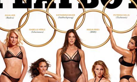 En imágenes: Cinco atletas alemanas posaron para Playboy
