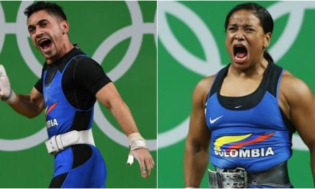 A los costeños les faltó gritar en el podio olímpico
