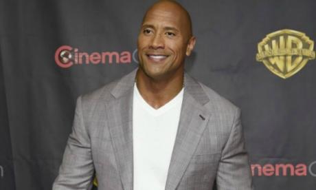 Dwayne Johnson, el actor mejor pagado del año, según