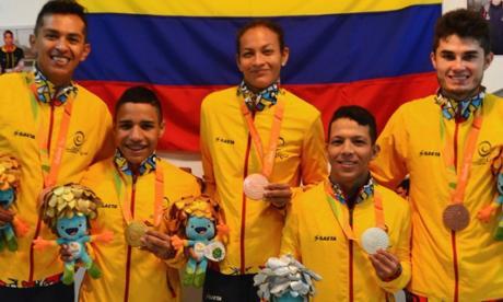 La mejor delegación paralímpica colombiana de la historia