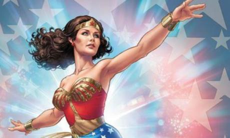 Comic de la Mujer Maravilla.