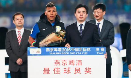 Doblete de Roger en final de Copa China