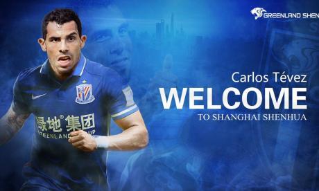 Carlos Tévez se va al fútbol chino