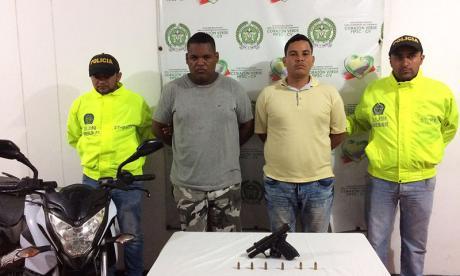 Capturan a 2 señalados de herir a Policía en Soledad