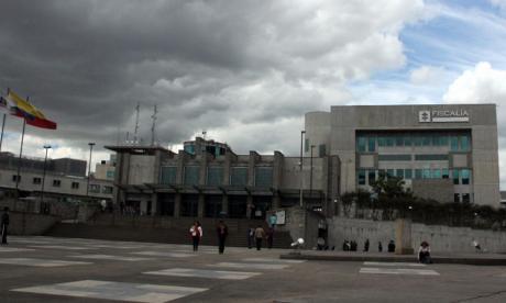 Sede de la Fiscalía General de la Nación en Bogotá.