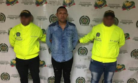 Jesse Muñoz es el quinto capturado por la Policía.