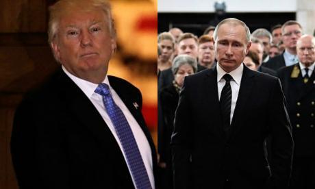 Donald Trump y Vladimir Putin estarían planeando reunirse