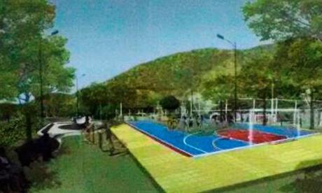 Una de las propuestas es que el barrio tenga más espacios deportivos y verdes.