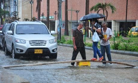 Lluvias en el Caribe irían hasta mañana, dice Ideam