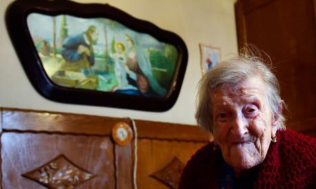 Emma Morano nació el 29 de noviembre de 1899.