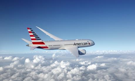 Avión de la aerolínea American Airlines.