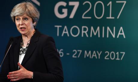 El G7 se une contra el terrorismo, pero sin avances sobre cambio climático