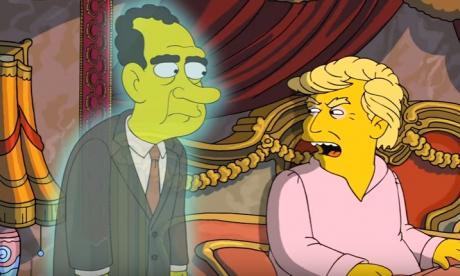 Donald Trump en Los Simpsons.