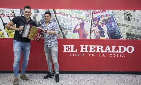 En video   Jorge Celedón y Sergio Luis Rodríguez no dan 'Ni un paso atrás'