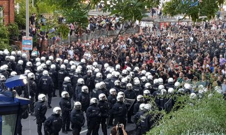 Enfrentamientos en Hamburgo antes del cara a cara Trump-Putin en la Cumbre G20