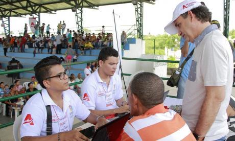 380 cabezas de familia se registraron como retornados en Campo de la Cruz