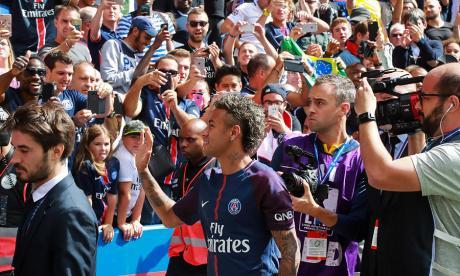 "Neymar está feliz: ""¡París es mágico!"""