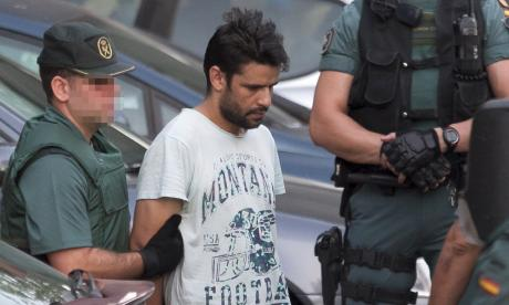 Cuarto detenido de la célula yihadista en España queda en libertad provisional
