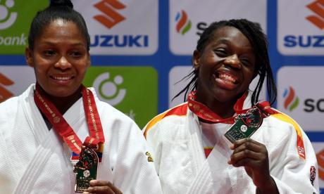 Yuri Alvear gana bronce en el Mundial de Judo