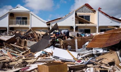 Las devastadoras imágenes que ha dejado el paso del huracán Irma