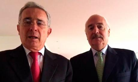 Uribe y Pastrana, citados para que sustenten acusaciones contra campaña Santos 2014