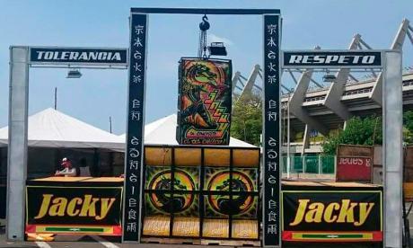 El picó 'Jacky en Concierto' se ha presentado en varias ocasiones en el parqueadero del Metropolitano.