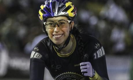 Mariana Pajón debuta en el ciclismo en pista