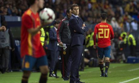 España busca mantener su buena imagen ante Rusia